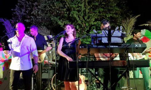להקת שבלול - חוץ בהופע וההרכב מוזיקלי ושירי ארץ ישראל היפה
