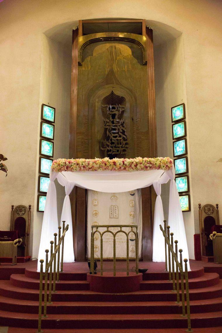 בית הכנסת הגדול של אלנבי- חופה