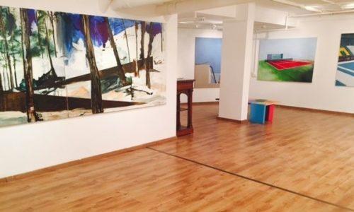 גלרייה לאומנות בהרצליה-חלל פנימי