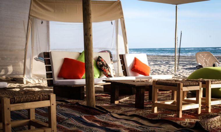 האוהל המפנק על הים- זולות