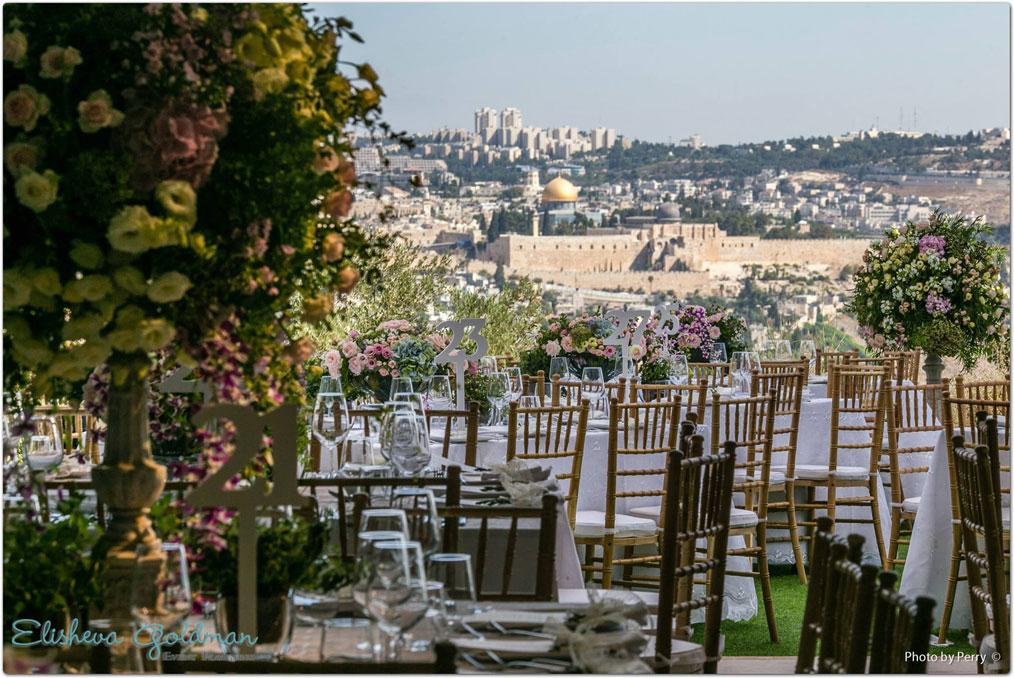 עולמיא - מדשאות והושבה ונוף ירושלים