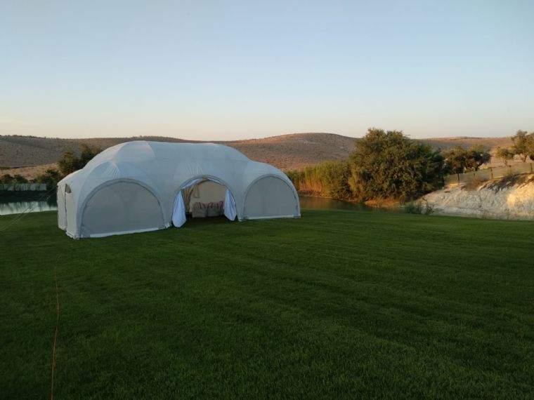 האוהל המפנק אחרי החתונה